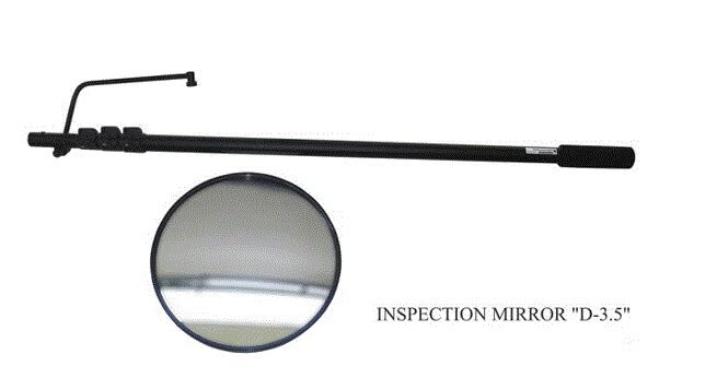 Apskates spogulis D-3,5