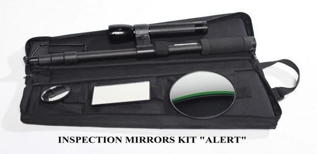 "Inspection mirrors kit ""ALERT"""